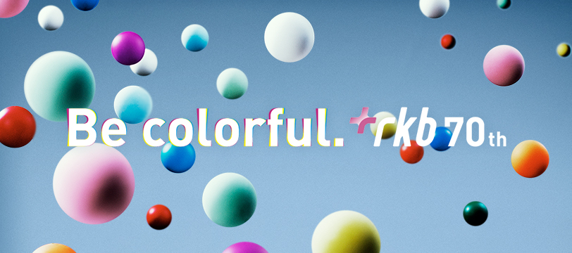 Be colorful. rkb 70th